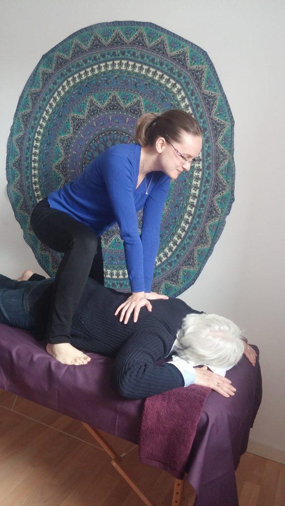 Massage Amma allongé chez Amma Détente