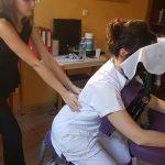Massage Amma assis en clinique