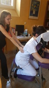 Massage Amma assis en clinique