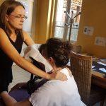 Massage Amma assis clinique de Crosne