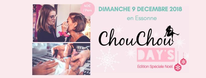 Journée Chouchou Days : beauté et bien être le 09/12/18