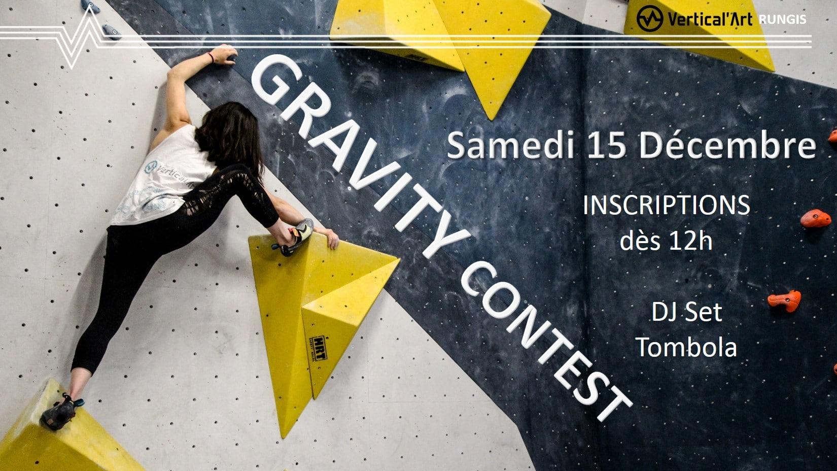 Gravity contest #2 le 15 décembre 2018