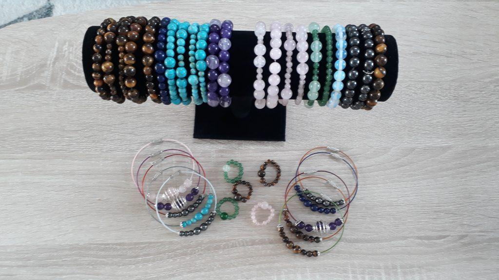 Création de bijoux par Ludivine Bardin